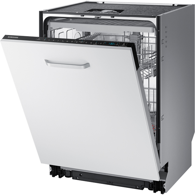 Samsung Chef Collection DW60M9970BB Wifi Connected Fully Integrated Standard Dishwasher - Black Control Panel with Fixed Door Fixing Kit - A+++ Rated - DW60M9970BB_BK - 1