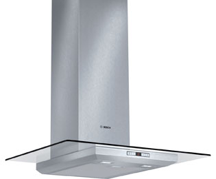 Bosch Exxcel DWA078E50B 70 cm Chimney Cooker Hood - Stainless Steel / Glass
