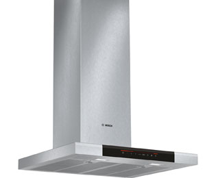 Bosch Serie 8 DWB068J50B Built In Chimney Cooker Hood - Brushed Steel - DWB068J50B_BS - 1