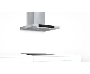 Bosch Serie 8 DWB068J50B Built In Chimney Cooker Hood - Brushed Steel - DWB068J50B_BS - 5