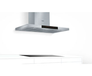 Bosch Serie 8 DWB098J50B 90 cm Chimney Cooker Hood - Brushed Steel - DWB098J50B_BS - 4