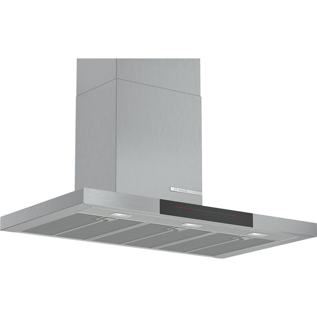 Bosch Serie 6 DWB98JQ50B Built In Chimney Cooker Hood - Stainless Steel - DWB98JQ50B_SS - 1