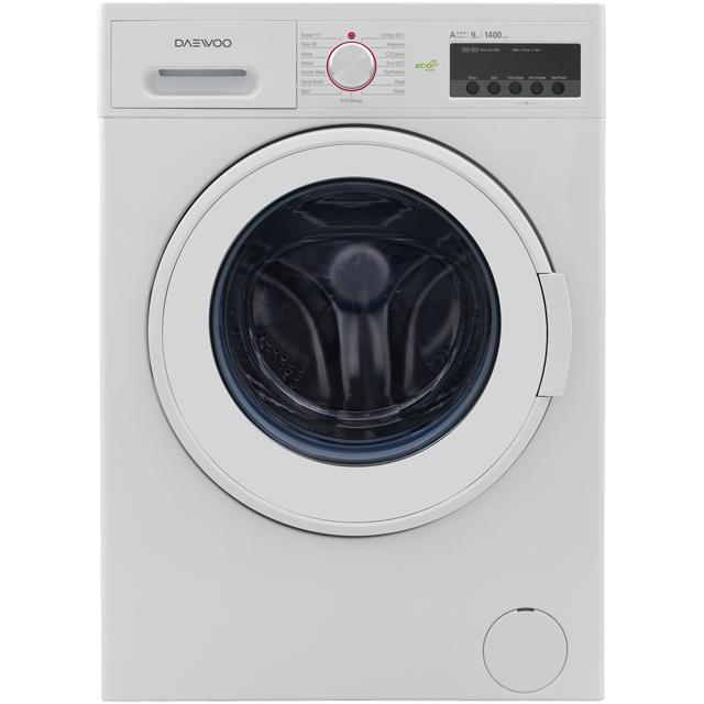 Daewoo DWDFV6441 Free Standing Washing Machine in White