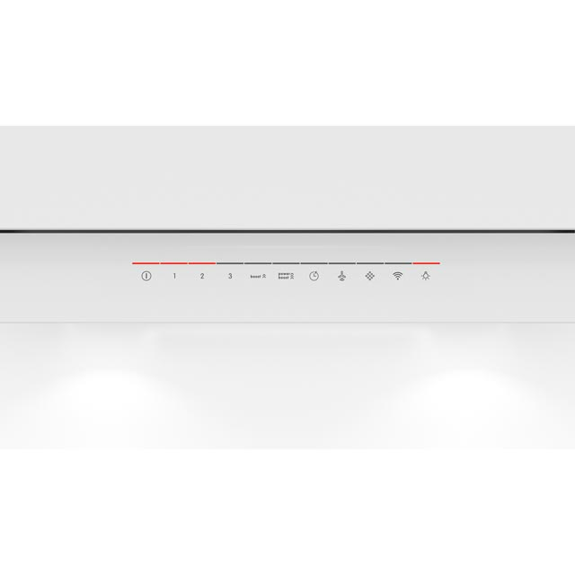 Bosch Serie 6 DWF97KR20B Built In Chimney Cooker Hood - White - DWF97KR20B_WH - 4