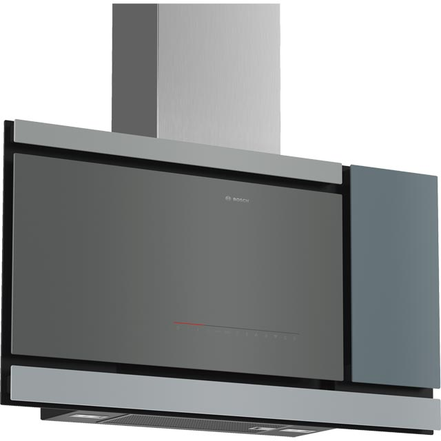 Bosch Serie 8 DWF97MS70B Wifi Connected 90 cm Chimney Cooker Hood - Black - A Rated