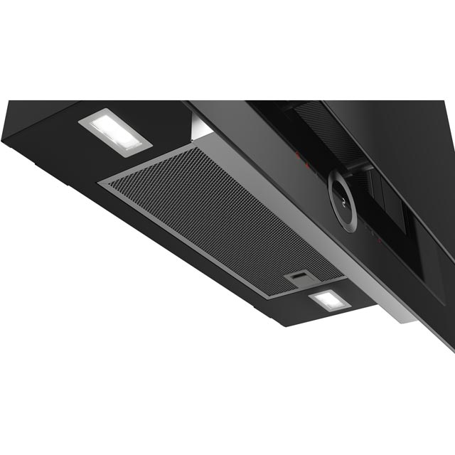 Bosch Serie 8 DWF97RV60B 90 cm Chimney Cooker Hood - Black - DWF97RV60B_BK - 5