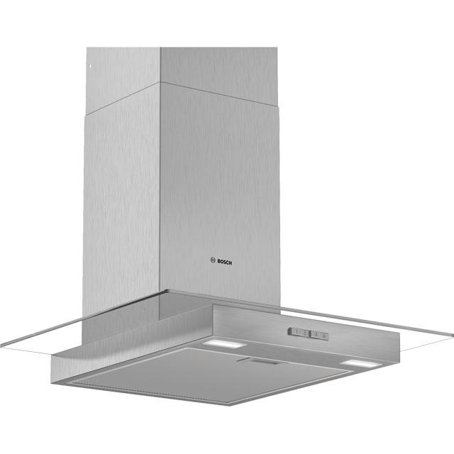 Bosch Serie 2 DWG64BC50B 60 cm Chimney Cooker Hood - Stainless Steel - D Rated