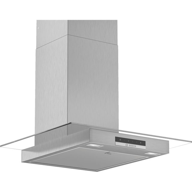 Bosch Serie 4 DWG66DM50B 60 cm Chimney Cooker Hood - Stainless Steel - DWG66DM50B_SS - 1