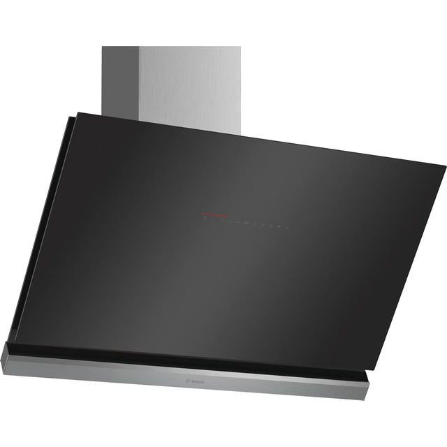 Bosch Serie 8 90 cm Chimney Cooker Hood - Black - A+ Rated