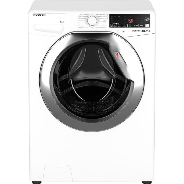 Hoover Dynamic Next DWOA412AHC8/1 Wifi Connected 12Kg Washing Machine with 1400 rpm - White - A+++ Rated - DWOA412AHC8/1_WH - 1