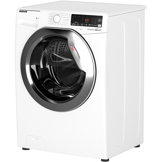 Hoover Dynamic Next DWOA412AHC8B 12Kg Washing Machine - Black / Chrome - DWOA412AHC8B_BK - 2