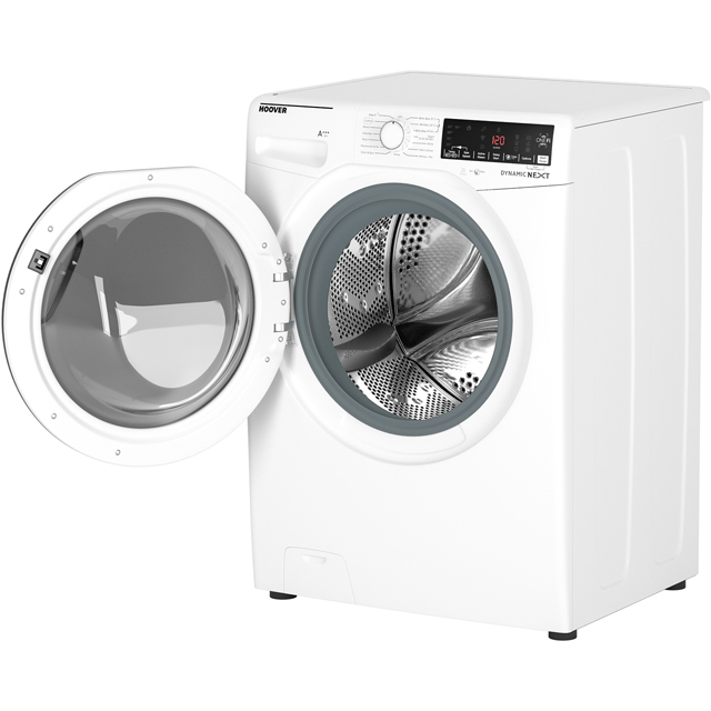 Hoover Dynamic Next DWOA412AHC8B 12Kg Washing Machine - Black / Chrome - DWOA412AHC8B_BK - 5