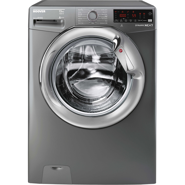 Hoover Dynamic Next DWOA413HLC3G Wifi Connected 13Kg Washing Machine with 1400 rpm - Graphite - A+++ Rated - DWOA413HLC3G_GH - 1