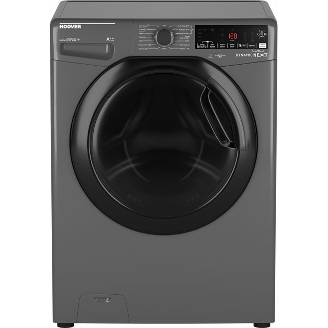Hoover Dynamic Next DWOAD610AHF7G Wifi Connected 10Kg Washing Machine with 1600 rpm - Graphite - A+++ Rated - DWOAD610AHF7G_GH - 1