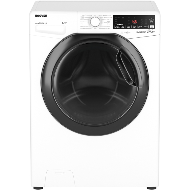 Hoover Dynamic Next DWOAD69AHF3/1 Wifi Connected 9Kg Washing Machine with 1600 rpm - White - A+++ Rated - DWOAD69AHF3/1_WH - 1