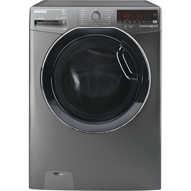 Hoover Dynamic Next DWOAD69AHF7G Wifi Connected 9Kg Washing Machine with 1600 rpm - Graphite - A+++ Rated - DWOAD69AHF7G_GH - 1