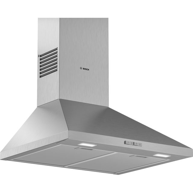 BOSCH Serie 2 DWP64BC50B Chimney Cooker Hood – Stainless Steel, Stainless Steel
