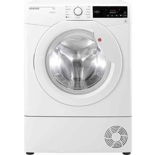 Hoover Dynamic Next DXC8TG Free Standing Condenser Tumble Dryer in White
