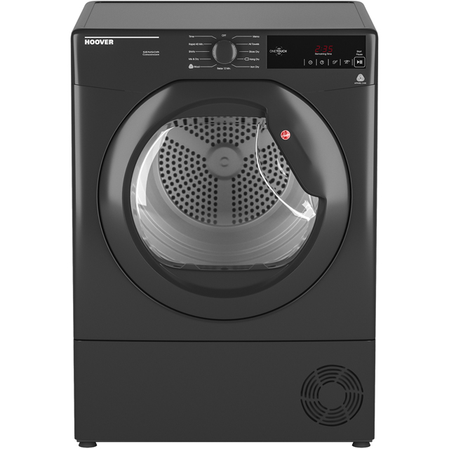 Hoover Dynamic Next Advance DXC8TRGR 8Kg Condenser Tumble Dryer - Graphite - B Rated