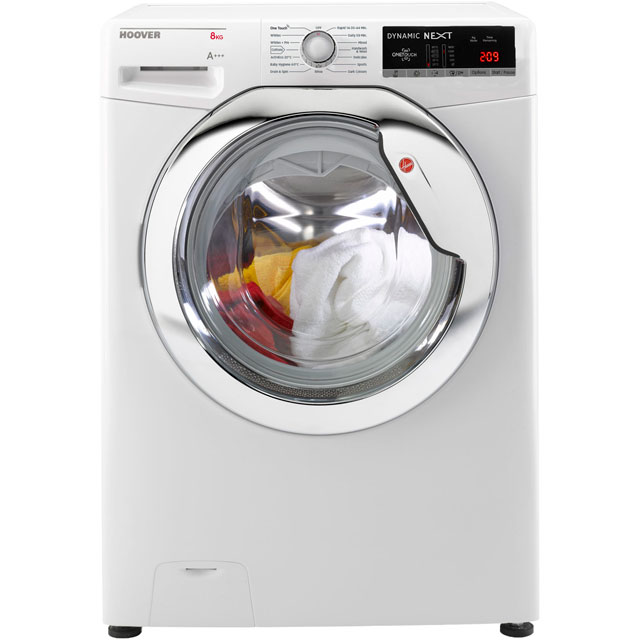 Hoover Dynamic Next Advance 8Kg Washing Machine - White - A+++ Rated