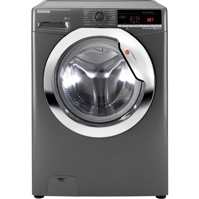 Hoover Dynamic Next Advance DXOA68C3R 8Kg Washing Machine with 1600 rpm - Graphite - A+++ Rated
