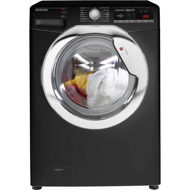 Hoover Dynamic Next DXOA69HC3B 9Kg Washing Machine with 1600 rpm - Black - A+++ Rated