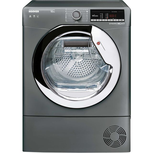 Hoover Dynamic Next DXOC10TCER Condenser Tumble Dryer - Graphite - DXOC10TCER_GH - 1