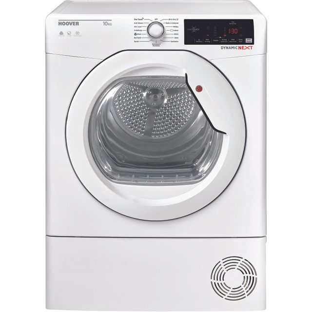 Hoover Dynamic Next DXOC10TG Condenser Tumble Dryer - White - DXOC10TG_WH - 1