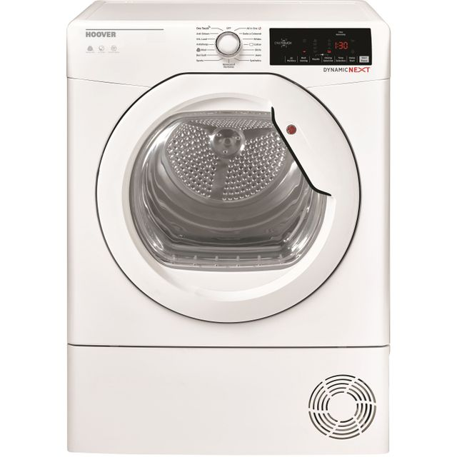 Hoover Dynamic Next DXOC8TG Condenser Tumble Dryer - White - DXOC8TG_WH - 1