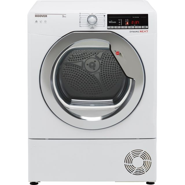 Hoover Dynamic Next DXOC9TCG Wifi Connected 9Kg Condenser Tumble Dryer - White - B Rated