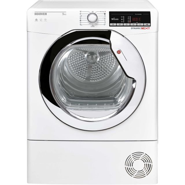 Hoover Dynamic Next DXOC9TCG Condenser Tumble Dryer - White - DXOC9TCG_WH - 1