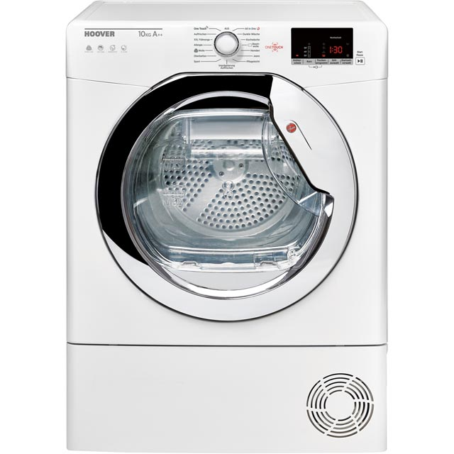 Hoover Dynamic Next DXWH11A2DCEXM Wifi Connected 11Kg Heat Pump Tumble Dryer - White - A++ Rated