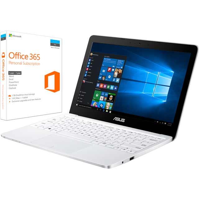 Asus E200HA-FD0041TS Laptop in White