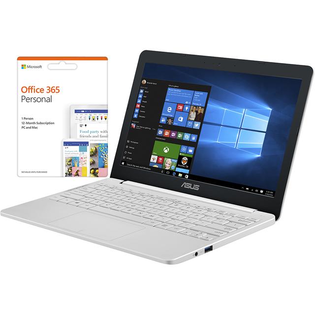 Asus E203MA-FD009TS Laptop in White