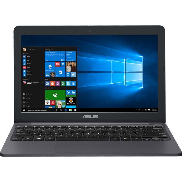 Asus E203NA-FD026TS Laptop in Star Grey