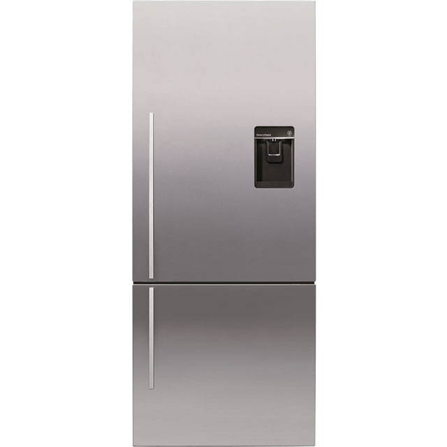 Fisher & Paykel Designer ActiveSmart 75/25 Frost Free Fridge Freezer - Stainless Steel - A+ Rated