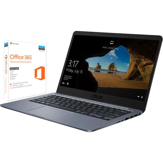 "Asus 14"" Laptop Intel® Celeron® 4GB RAM - Star Grey"
