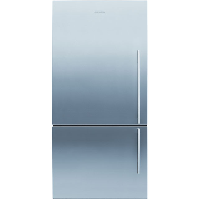 Fisher & Paykel Designer ActiveSmart E442BLXFD4 70/30 Frost Free Fridge Freezer - Stainless Steel - A+ Rated