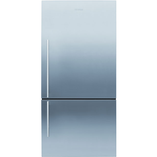 Fisher & Paykel Designer ActiveSmart E442BRXFD4 70/30 Frost Free Fridge Freezer - Stainless Steel - A+ Rated - E442BRXFD4_SS - 1