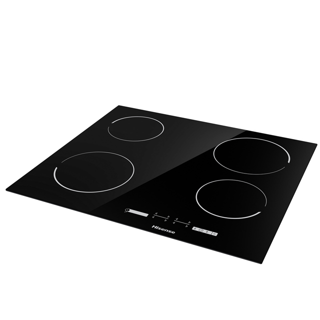 Hisense E6431C Built In Ceramic Hob - Black - E6431C_BK - 2