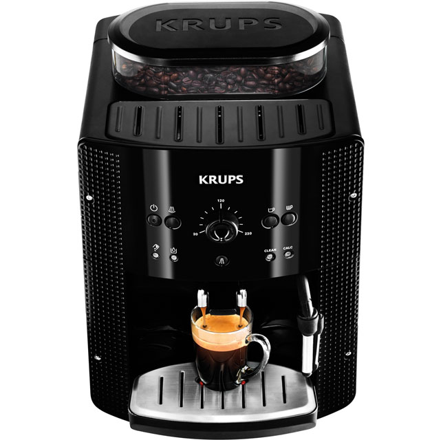 Krups EA810840 Bean to Cup Coffee Machine - Black - EA810840_BK - 1