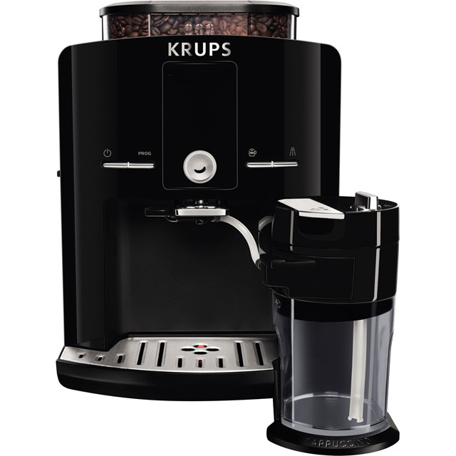 Krups EA829840 Bean to Cup Coffee Machine - Black