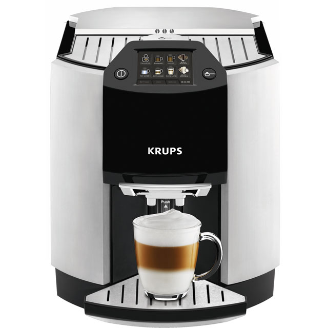 Krups EA9010 Bean To Cup in Silver / Black