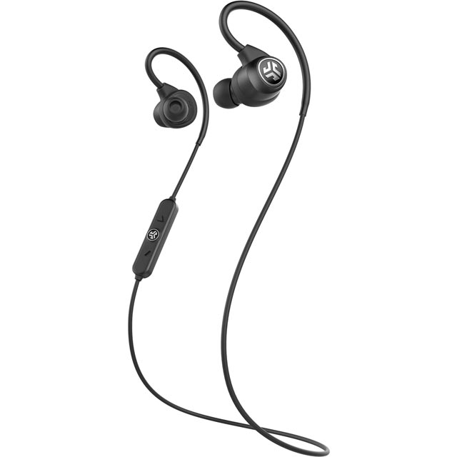 JLAB Epic Sport In-ear Water Resistant Wireless Sports Headphones - Black - EBEPICSPORTRBLK42 - 1
