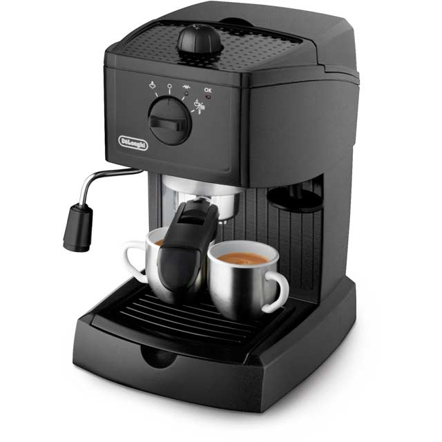 De'Longhi Traditional Pump EC146.B Espresso Coffee Machine - Black