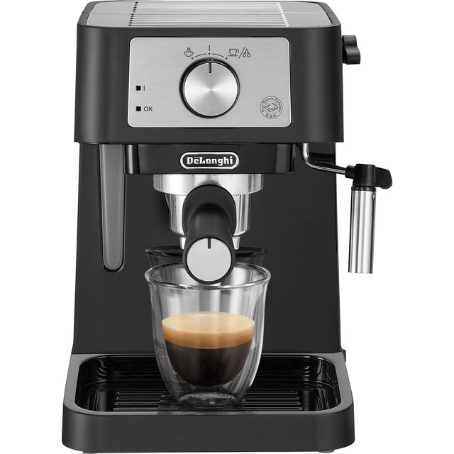 De'Longhi Stilosa Traditional Pump EC260.BK Espresso Coffee Machine - Black / Silver