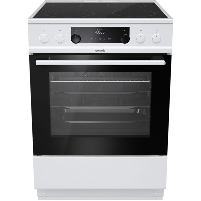Gorenje EC6451WPB Electric Cooker with - White - A Rated - EC6451WPB_WH - 1