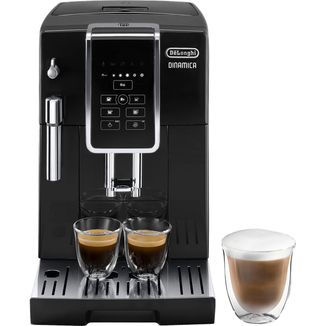 De'Longhi Dinamica ECAM350.15.B Bean to Cup Coffee Machine - Black