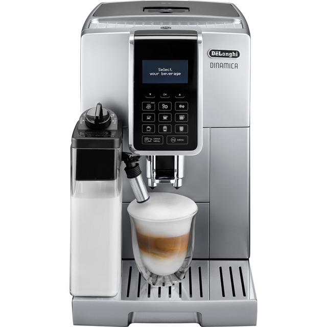 De'Longhi Dinamica ECAM350.75.S Bean to Cup Coffee Machine - Silver - ECAM350.75.S_SI - 1