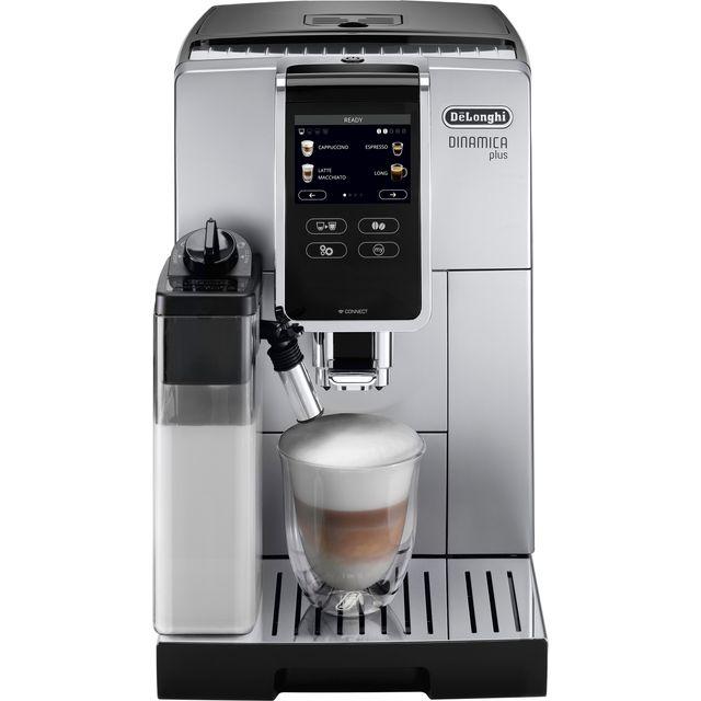 De'Longhi Dinamica ECAM370.85.SB Bean to Cup Coffee Machine - Silver / Black